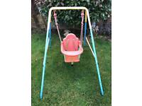 Baby swing for garden