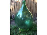 Glass bubble garden ornament in good condition