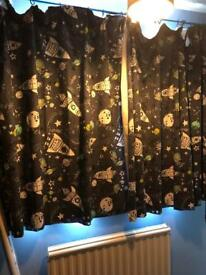Next childrens space curtains