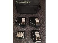 Pocket Wizard kit for Canon - 1x TT1, 1x AC-3 and 2x TT5