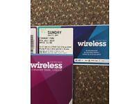 Wireless Festival SUNDAY Ticket