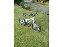 Child's Bicycle: Ridgeback MX16 2017 Bicycle (Silver, 16 inch wheel, used for less than 1 year)