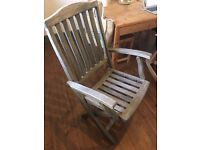 Garden chairs - folding - set of 4 (by Alexander Rose)