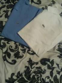 Lacoste tops warn once
