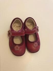 Clarks baby shoes 4F