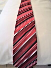 ELEGANT - VERY SMART- GENUINE - MULTI COLOUR - AUSTIN REED TIE - 100% PURE SILK