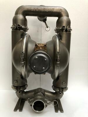 Wilden Pump 8 Stainless Steel Double Diaphragmtransfer Pump Teflon Diaphragm 2