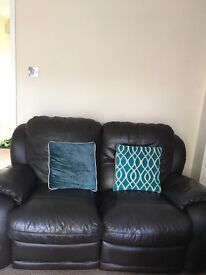 Leather Recliner Sofa's ( Three and Two seater)