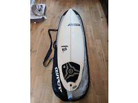 """Matt Adams Surfboard - 6'6"""" Shortboard"""