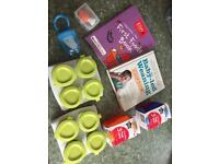 Bundle of baby weaning items