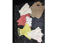 3/4 Girls clothes bundle(must check all the pictures)