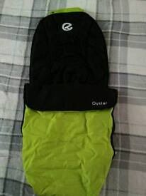 footmuff oyster lime green