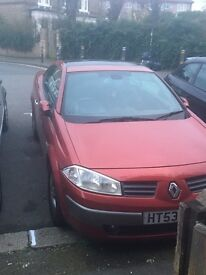 Renault Megan 2004 lovely condition