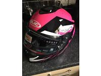 Motorcycle helmet new xs