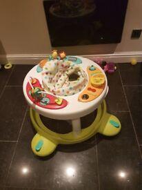 foldable baby walker