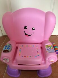 Fisher Price Smart Stages Laugh & Learn Chair - Excellent Condition