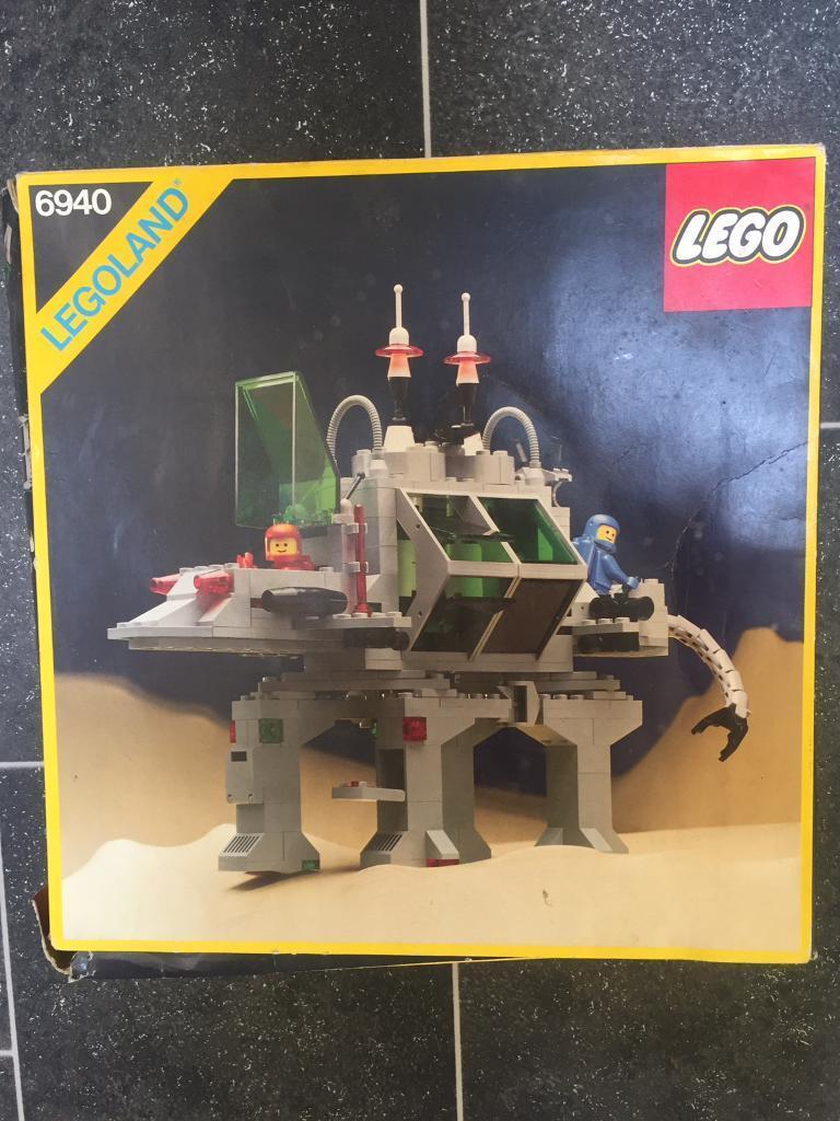 Vintage Lego set 6940 incomplete