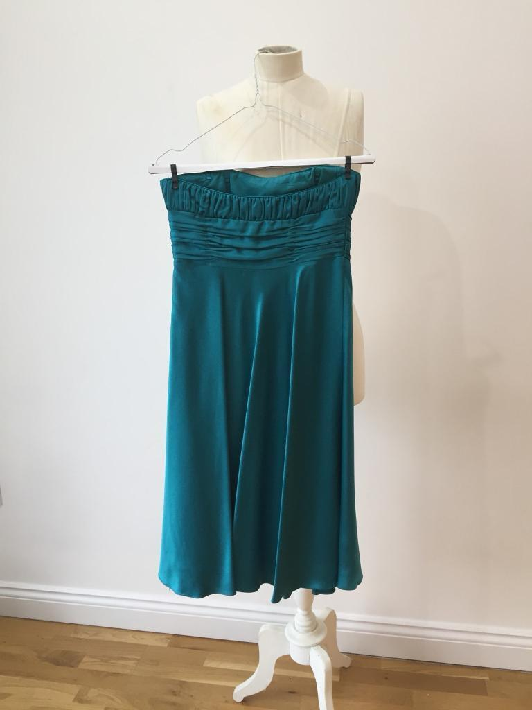 Debut teal dress - excellent condition. Size 8 and size 6 available