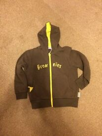 Two Brownie hoodies. 32 inches and 36 inches. In used condition and would sell each for £5 ono
