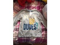 BNWT boys top and jeans brand new