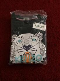 Mens kenzo paris jumper black sweatshirt brand new with tags never worn