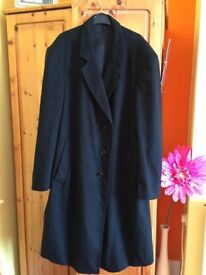 Mens Black Coat