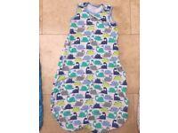 Sleeping bag Mothercare Dinosaur design 6-18 months 1 tog