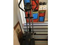 Pro form Cross trainer originally bought from leekes used just a couple of times