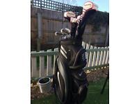 Golf Set + trolley- taylormade/Macgregor/ Nike