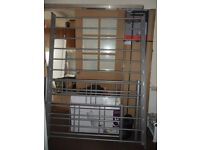 ******FREE******* Double silver grey metal bedstead. Collect from New Milton