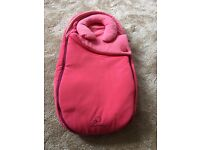 Quinny moodd pink passion baby nest