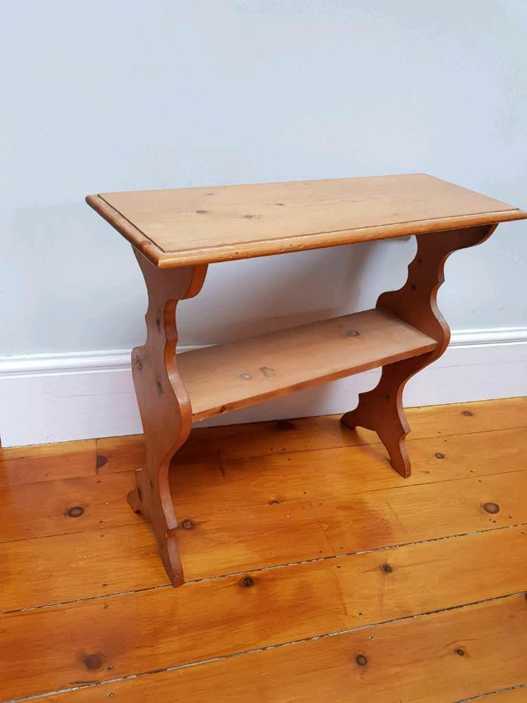Smalle Sidetable 25 Cm.Pine Side Table In Cambridge Cambridgeshire Gumtree