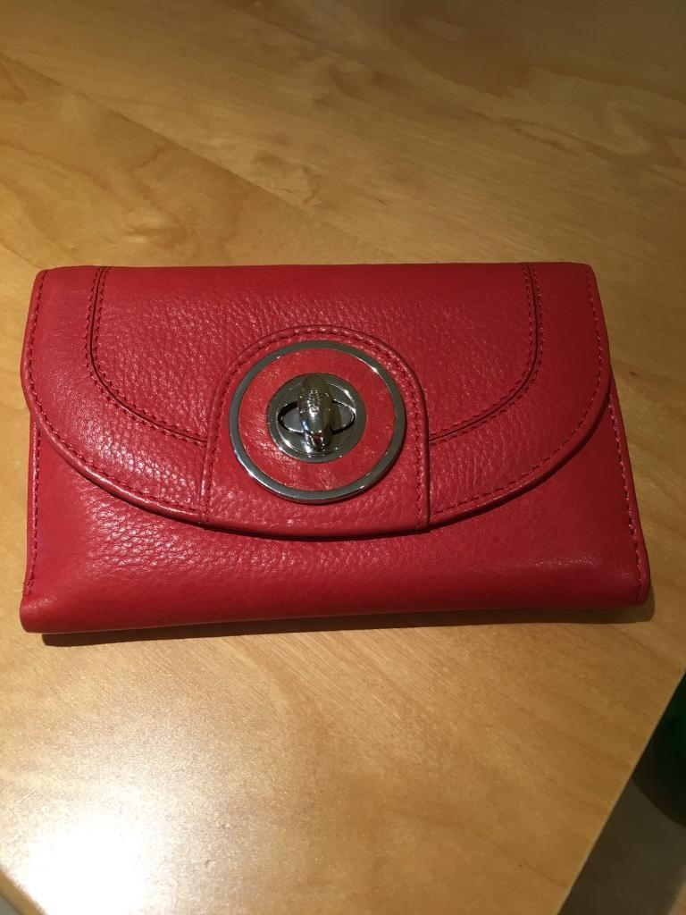 Leather Wallet Purse
