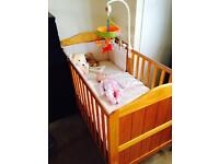 Mother Care Darlington Cot - Bed