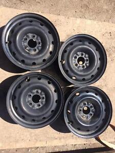4 roues d acier 18 pouces 5x114.3
