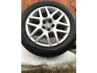 Golf mk4 gti Genuine alloys, almost new tyres