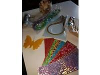 huge lot craft decoration handmade