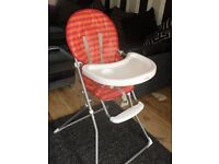 redkite high chair good condition