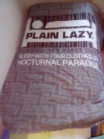 Quilt Cover plain Lazy