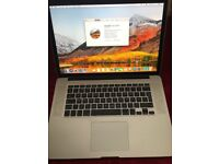 "Apple MacBook Pro Retina 15"" i7 256gb 8gb Office 2016 +More"