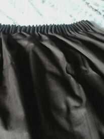 brown blackout curtains/dunelm