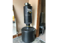 Everlast Powercore Freestanding Punch Bag & Reebok Gloves
