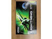 NVIDIA GeForce GTX 770 Lightning edition 2GB graphics card