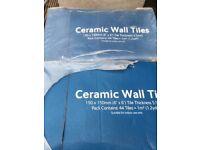4x Ceramic wall tiles
