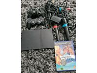 Playstation 2 singstar bundle