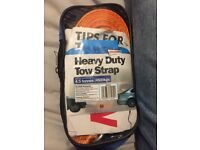 Heavy duty car tow straps