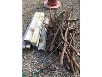 free logs & wood ~ for wood burning stove ~ purchaser to take away
