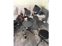 Electric drum kit YAMAHA DT XPLORER WITH MANUAL ALL WORKING LE3