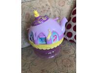 My little pony interactive tea pot & mini mouse toaster