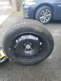 Wheel tire renault clio R15 Michelin